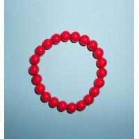 Korál červený- Náramek