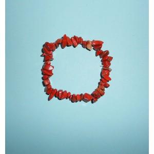 Jaspis červený- Náramek