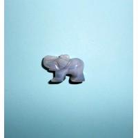Achát šedý-Slon