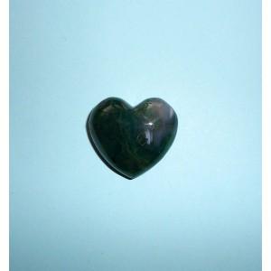 hmatka srdce- Achát mechový