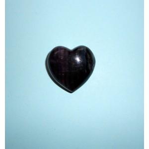 Hmatka srdce- Fluorit