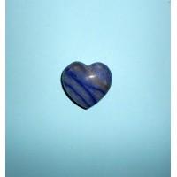 Křemen modrý-Hmatka srdce
