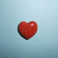 Avanturín zlatý - Vrtané Srdce